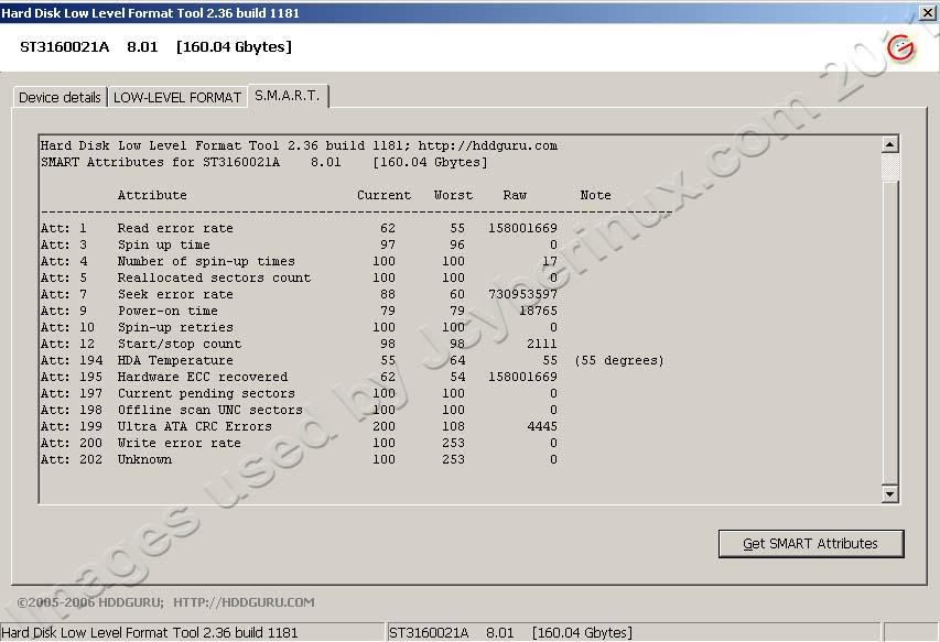 HDDGURU – HDD Low Level Format Tool used by Jcyberinux